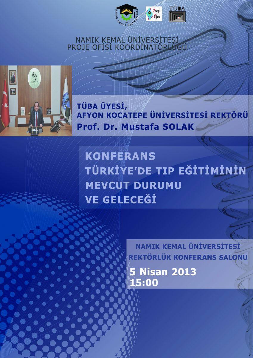 TÜBA konferans