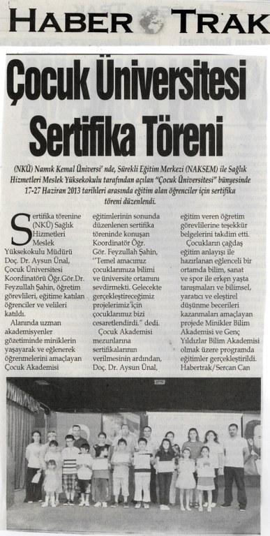 Namık Kemal Üniversitesi